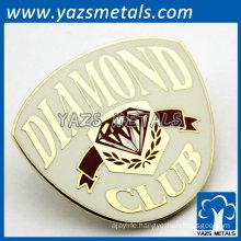 custom badge name plate pins for diamond club
