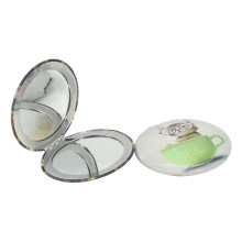 Factory Professional Double Sides Metal Cosmetic Pocket Mirror