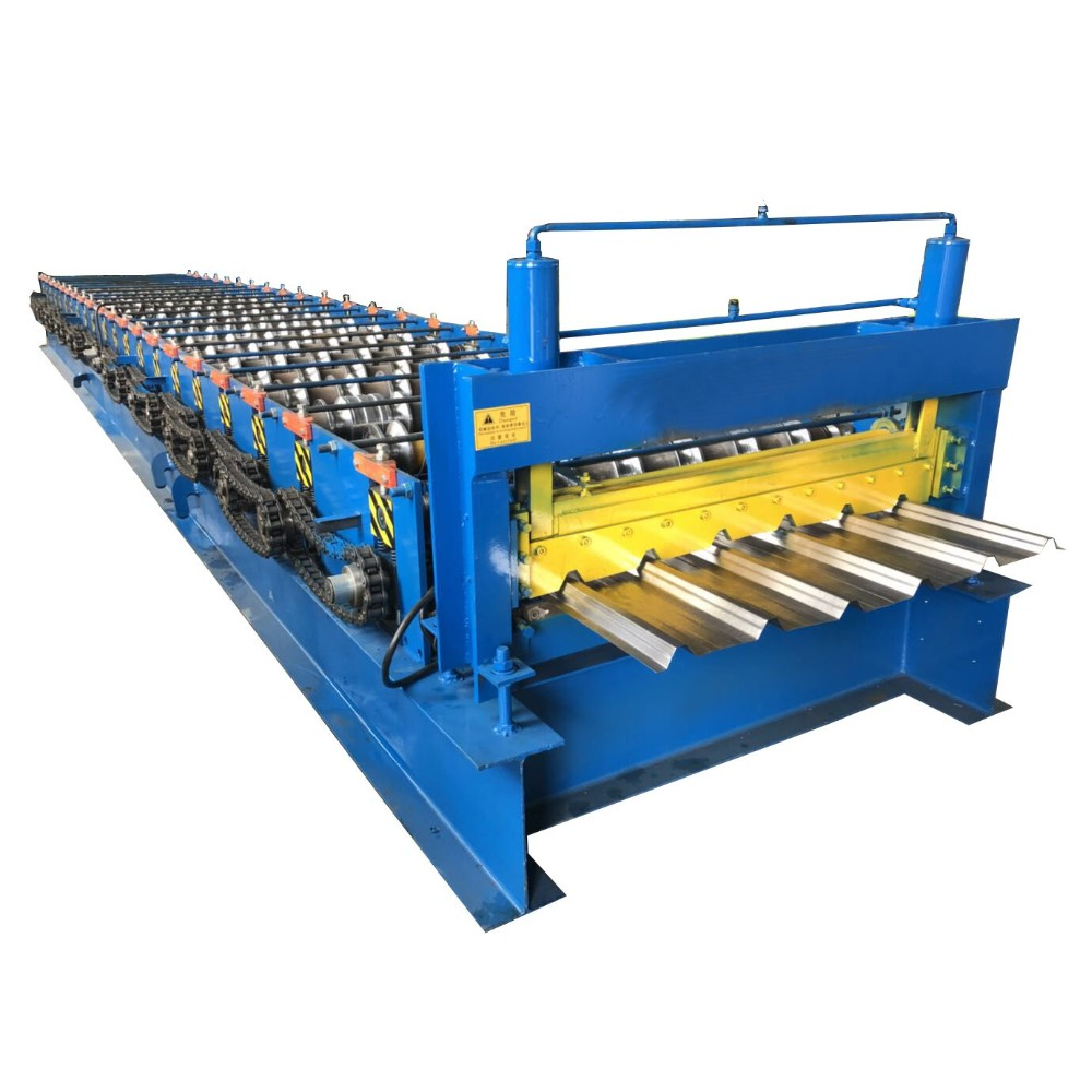 Single Layer Trapezoidal Roll Forming Machine