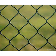 PVC Coated Chain Link Fence for Zoo, Shade Net Fence