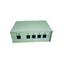 Caixa de comutação de dados manuais RJ11 de 4 portas (ERC422)