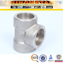 SA 182 316L Forged Stainless Steel Pipe Fittings Socket Tee