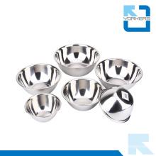 Stainless Steel Bowls Salad Bowl Mixing Bowl Set