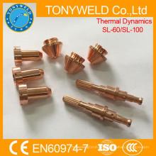 Plasmaschneiden von SL60 SL100 thermische Dynamik