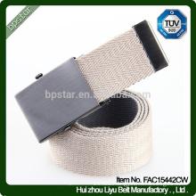 Tooth Metal Buckle Fashion Men Cheap Canvas Belt