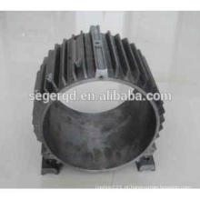 carcaça de carcaça do motor elétrico de fundição para alumínio