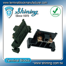 TR-10 35mm Rail Mounted Quick Release 10 Amp Terminal Connector