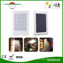 Luz de calle solar impermeable al aire libre del jardín del LED con el sensor de movimiento