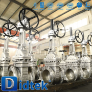 Didtek Reliable Supplier Petroleum resilient seated gate valve
