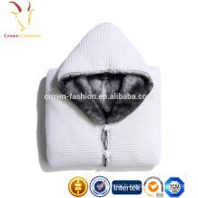 Sweat-shirt en laine à rayures