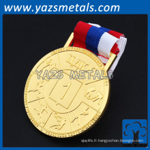 Personnaliser Design Metal Medals with Ribbon