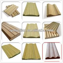 Inde conique moulure de bois