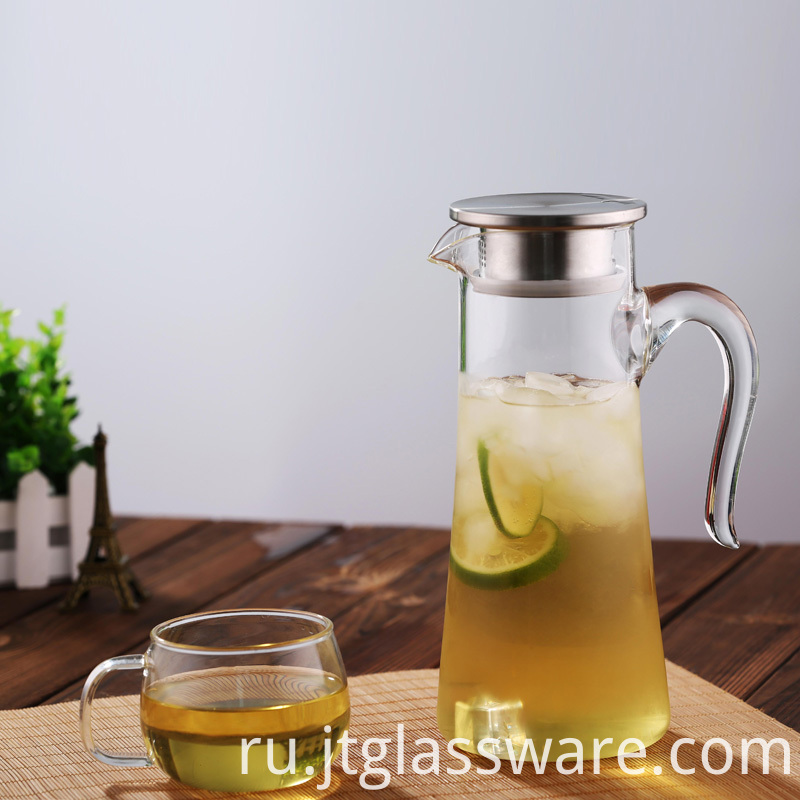 Iced Beverage HotCold Water Jug