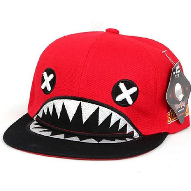 Shark Flat Bill Cap