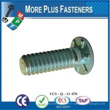 Fabriqué en Taiwan Stainles Steel Flush Head Self Clinching Stud ou Carbon Steel Zinc plaqué