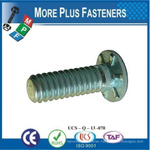 Made in Taiwan Self Clinching Ribbed Studs Standoffs by Insertion Press