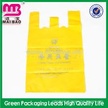 Sacos de plástico biodegradáveis descartáveis não tóxicos dos vegetais frescos