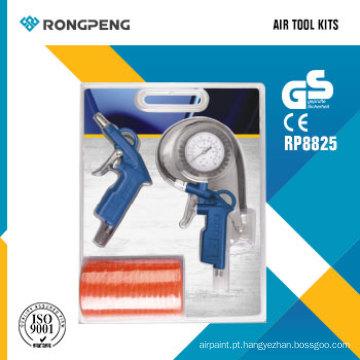 Rongpeng R8825 3PCS Air Tool Acessórios Kits Kits de pistola