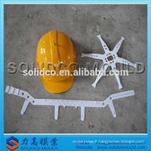 Moule d'injection en plastique de casque de sécurité