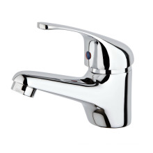 Brass Kitchen and Basin Faucet Plated Chrome (a. 1001)