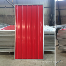 Temporary Steel Hoarding / Construction Site Steel Hoarding 2.0X2.16m