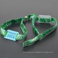 Benutzerdefinierte Stoff rfid Wristband / einmalige Verwendung 860-960mhz uhf rfid Wristband