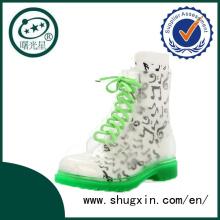 Galoches de Singapour pour les chaussures habillées bottes de pluie B-817