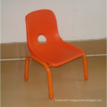 Red Plastic Chairs, Backest Chair for Kids