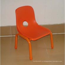 Красные пластиковые стулья, Backst Chair для детей
