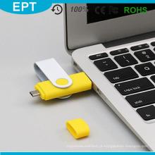 8GB OTG USB Flash Drive para casa e escritório usa