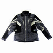 Motorcycle Jacket with 600D Polyester Oxford Shell with Adjustable Waist Strap