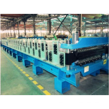 Double layer steel roll-forming machinery