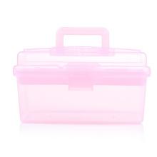 O estojo de armazenamento rosa claro (hx-q079)