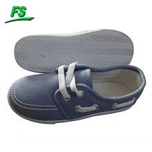 barato encaje hasta los zapatos de lona de los niños