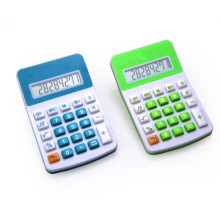 8 Digits Colorful Small Desktop Calculator