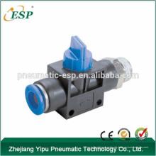 Ningbo ESP hochwertige pneumatische Handhebelventile mit geradem Gewinde
