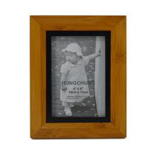 Moldura de foto de madeira SGS para artes caseiras