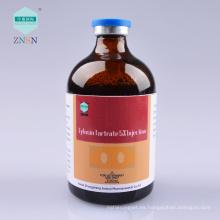 Tartrato de tilosina 5% de inyección, tratar la bronquitis por neumonía causada por mycoplasma micoplasma y pasteurella