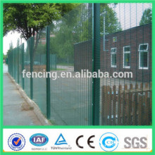 358 security anti climb fence/ RAL6005 358 High Security fence low proice