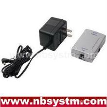 Adaptateur audio optique numérique coaxial