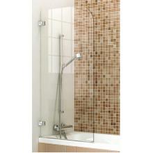 Porte de douche sur la baignoire
