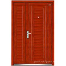 Стальные деревянные двери (LT-113)