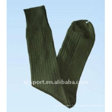Chaussettes militaires en jersey de coton