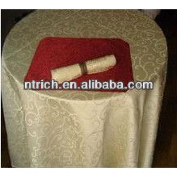 Polyester Jacquard Tischdecke, zur Hoteltabelle, gute Qualität-Tischdecke