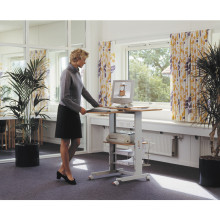 Wirtschaftliche und effiziente hölzerne Bürotisch Computer Schreibtisch Workstation