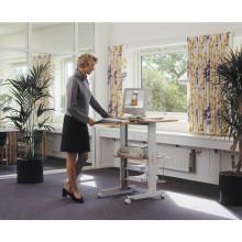 Mesa de oficina de madera económica y eficiente Oficina de escritorio de la computadora