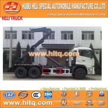NOVO DONGFENG DFL 6x4 20M3 braço hidráulico recheio caminhão primeira classe venda quente preço razoável boa qualidade