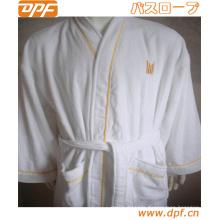 Women′s 100% Cotton Lightweight Bathrobe Robe