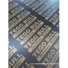 Brown / preto cofragem filme enfrentou madeira compensada / marinha contraplacado para concreto (hb003)