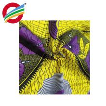 Tela 100% africana das cópias de cera do algodão real para o vestuário